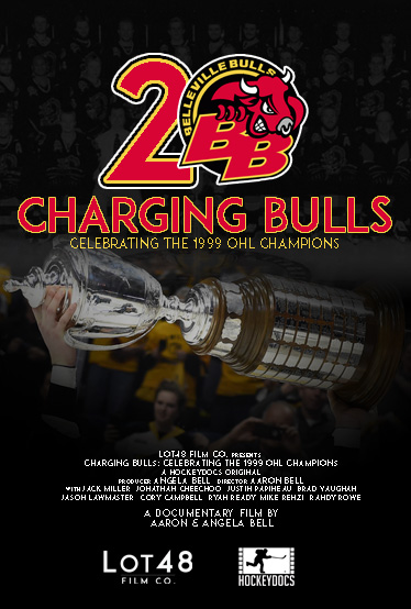 L48 Poster CHARGING BULLS
