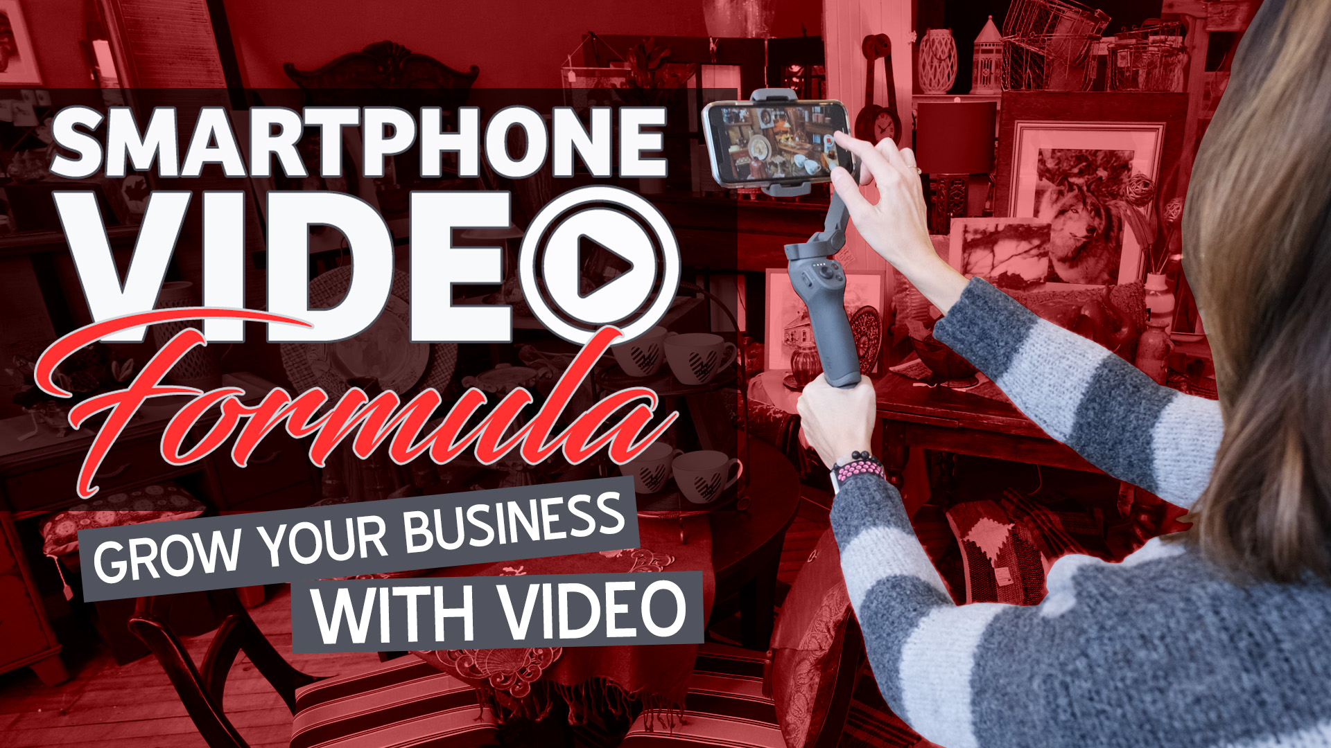 Learn how to filed, edit, share and promote high-quality videos about your business with your phone - Smartphone Video Formula